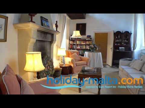 Medina Villa and Holiday Home to rent in Malta - (R540)