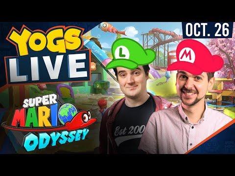 Lewis & Ben Mariothon - Super Mario Odyssey - 26th October 2017