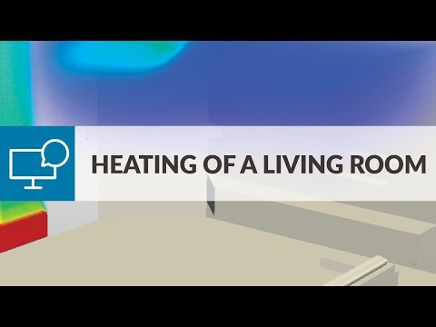 Air Conditioning and Ventilation Workshop (Session 3)  ― Heating of a Living Room