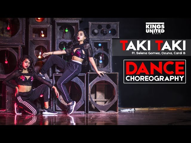 DJ Snake - Taki Taki | Dance Choreography | Kings United