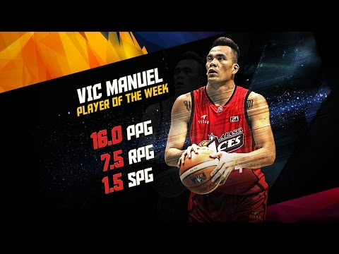 Player of the Week: Vic Manuel | PBA Philippine Cup 2016 - 2017