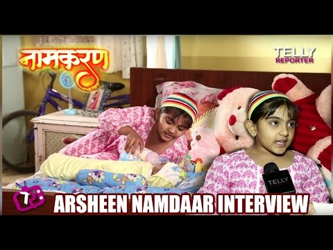 Naamkaran: Avni Takes Care Of Younger Brother Amar  | Arsheen Namdaar Interview