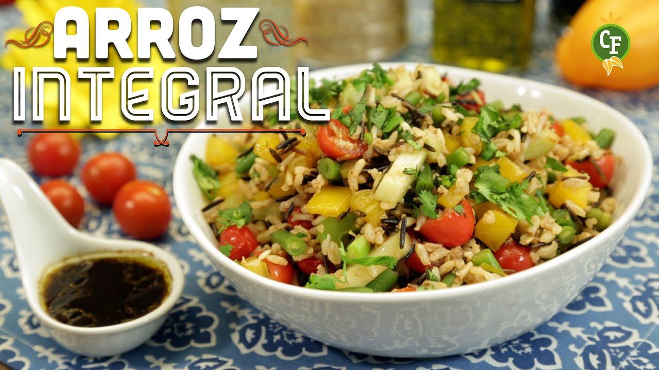 C Mo Preparar Ensalada De Arroz Integral Cocina Fresca