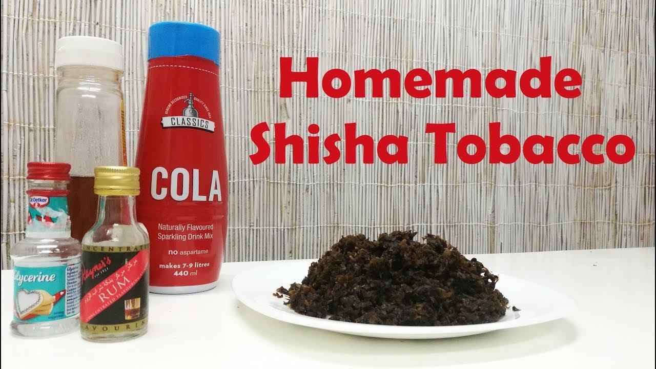 Homemade Shisha Tobacco - Rum and cola flavor