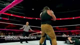 Dean & Roman-some of greatest moments together!