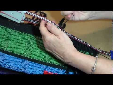 How to Weave a Tablet Woven Band onto Fabric