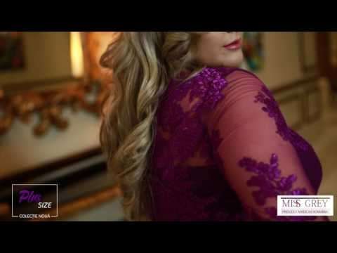 Rochie mov Plus Size Elissa from YouTube · Duration:  41 seconds