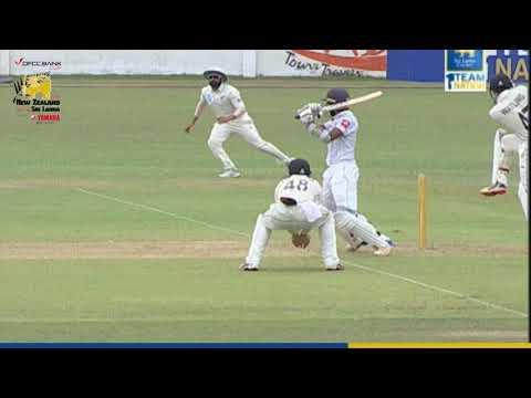Sadeera Samarawickrama's 80 at the warm-ups vs New Zealand