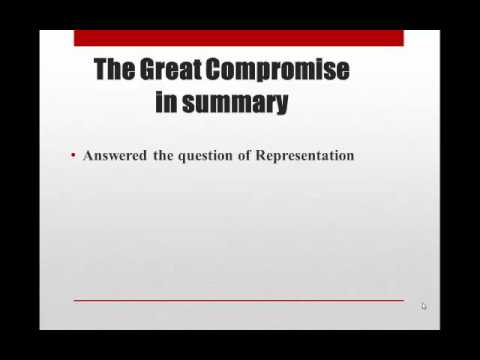 Constitutional Convention Compromises - YouTube