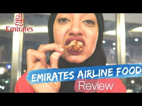 EMIRATES AIRLINE FOOD REVIEW | FARHANA OBERSON