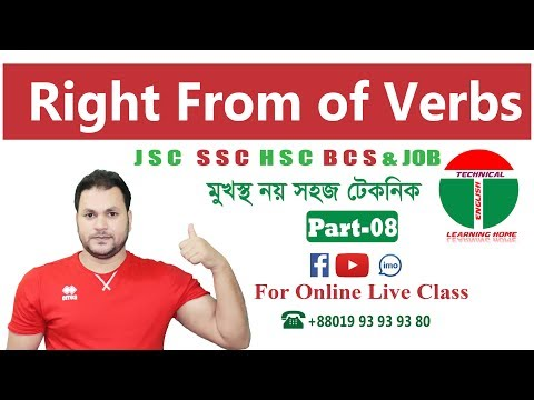 Verbs In Basic English Grammar- English Grammar Check - types of Verb-Regular Verb- irregular verb-