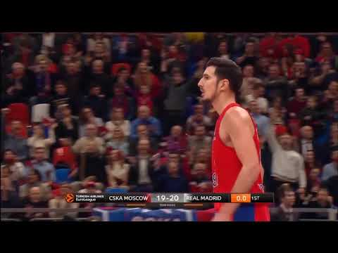Nando de Colo highlights (CSKA Moscow - Real Madrid: 82-78)