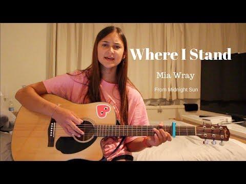 Where I Stand - Mia Wray