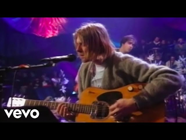 Nirvana - All Apologies (MTV Unplugged)