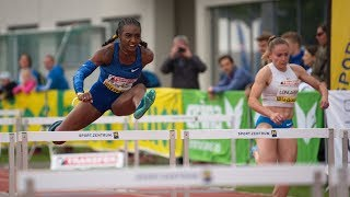 100m Hurdles Final A at Liese Prokop Memorial 2019