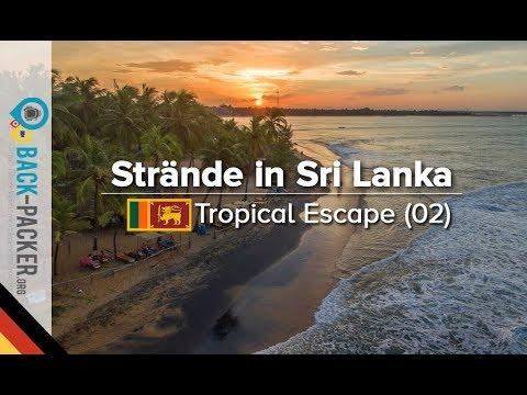Die 10 Besten Strände in Sri Lanka - Ost-/Süd- und Westküste (Tropical Escape #2, Deutsch)