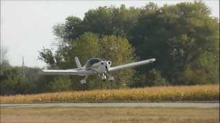 Hear the UL350iS engine: Take-Off in the Zenith CH 650 cruiser