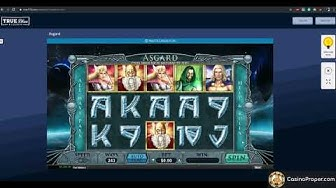 Asgard Online Pokies at  TrueBlue Casino