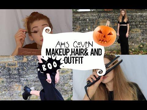 American Horror Story -Taissa Farmiga Inspired Hair,Makeup&Outfit!