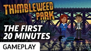 The First 20 Minutes Of Thimbleweed Park