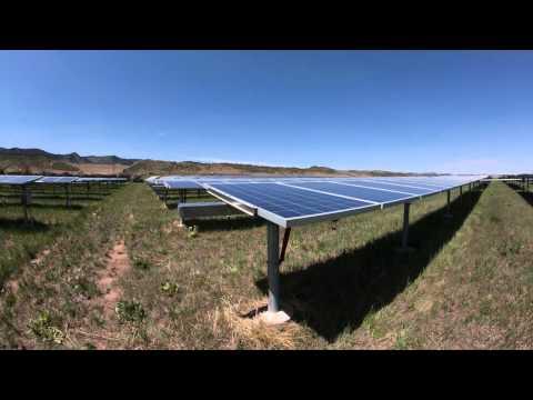 CSU Solar Time lapse