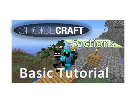 Factions Base Tutorial and creating a mob spawner: Anyone new to Choicecraft Factions must watch!