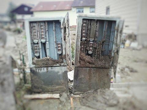 Simbach am Inn: Wiederaufbau des Telekom-Netzes nach der Flut