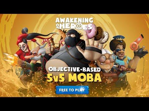 Awakening of Heroes - Objective Based MOBA