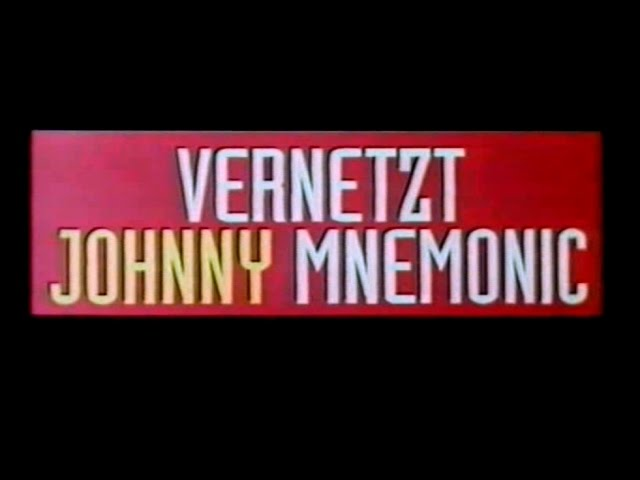 Vernetzt - Johnny Mnemonic - Trailer (1995)