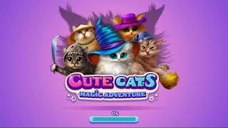 Игра Волшебные коты: три в ряд на Андроид