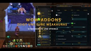 WoW AddOns - Zeigt uns eure WeakAuras