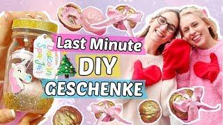 LAST MINUTE DIY GESCHENKE für WEIHNACHTEN 🎁 Weihnachtsgeschenke basteln, dekorieren & verzieren 🌟