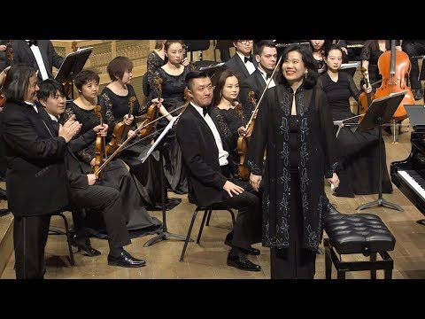 Claudia Yang with Harbin Symphony Orchestra