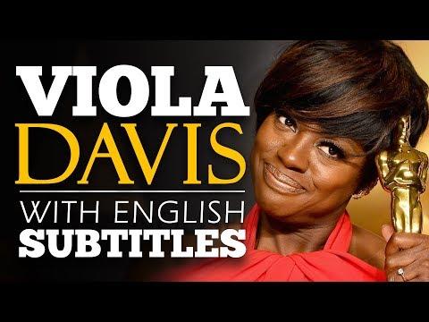 ENGLISH SPEECH | VIOLA DAVIS: We Are All History (English Subtitles)