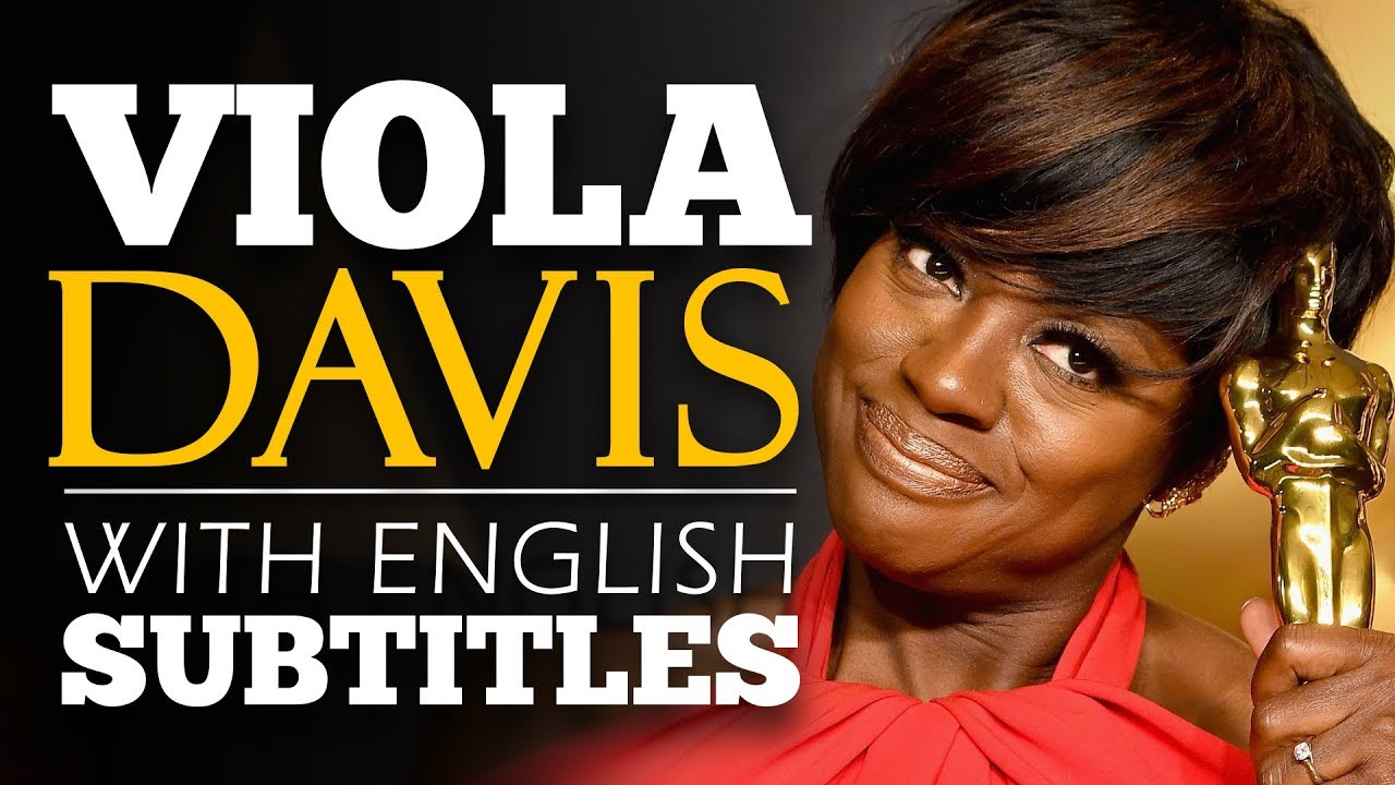 ENGLISH SPEECH | VIOLA DAVIS: We Are All History (English Subtitles)