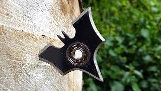 BATMAN Batarang / Fidget Spinner - Pocket Size - BrainfooTV