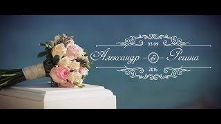 Александр & Регина. Свадьба 3.09. 2016