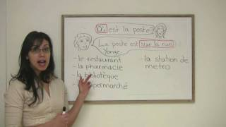 French for Beginners  How to Give Directions in French