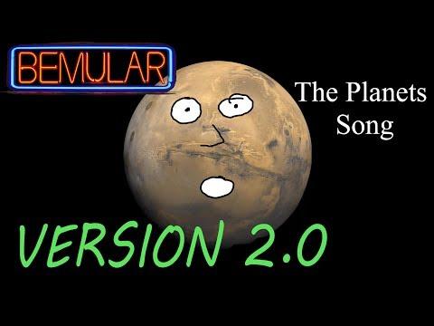 Bemular - The Planets Song (2.0 version!)
