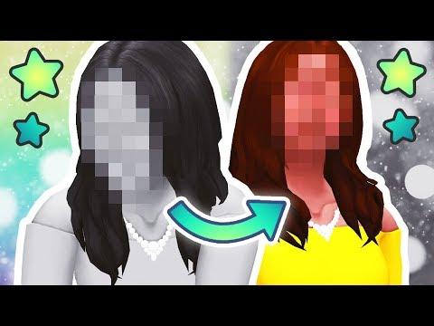 BLACK & WHITE CHALLENGE 🖤 // The Sims 4