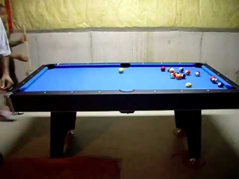 Walmart Pool Table YouTube - Sportcraft 1926 pool table