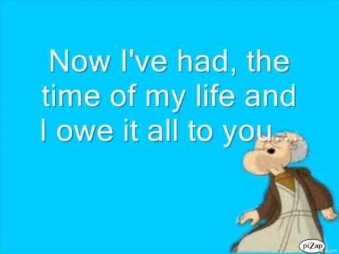 Family Guy Herbert- Time Of My Life Lyrics