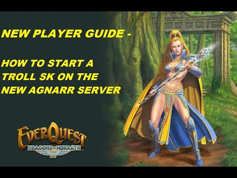 EVERQUEST GUIDE - Starting a Troll Shadow knight on the Agnarr server (1080p)