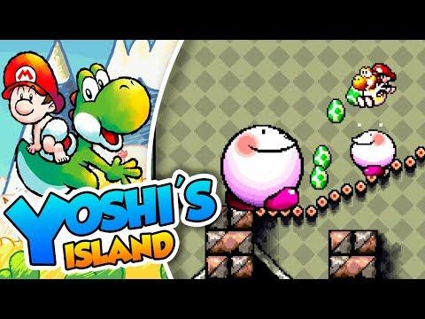 ¡Culazo explosivo! - #08 - Yoshi's Island (SNES mini) DSimphony