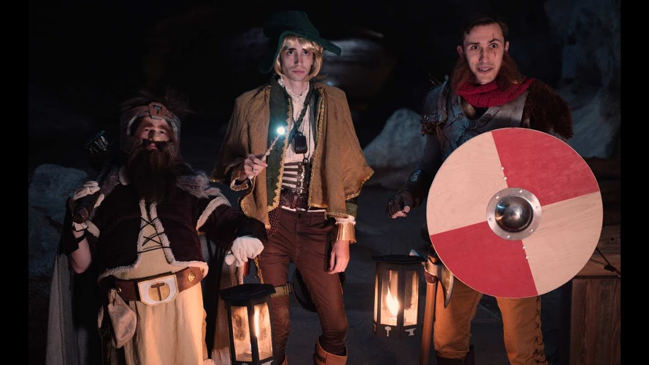 live action the adventure zone fan film youtube