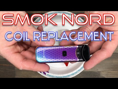🛠 SMOK Nord Coil Replacement - How To 🛠