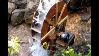Water Wheel Produce Electricity In Sri Lanka