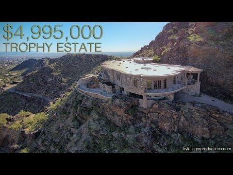 Unbelievable 5 Million Dollar Trophy Estate - Paradise Valley, Arizona
