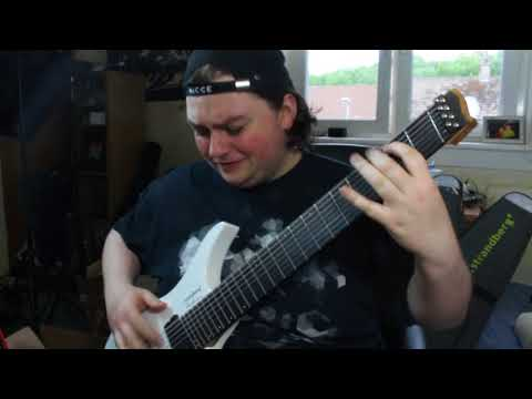 how to play the The Woven Web slap riff