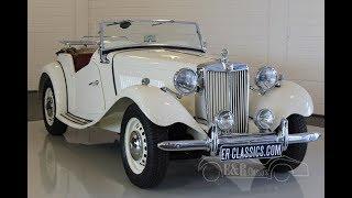 MG TD Cabriolet 1952 -VIDEO- www.ERclassics.com